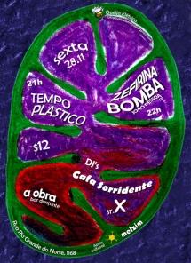 Zefirina Bomba (PB) e Tempo Plástico